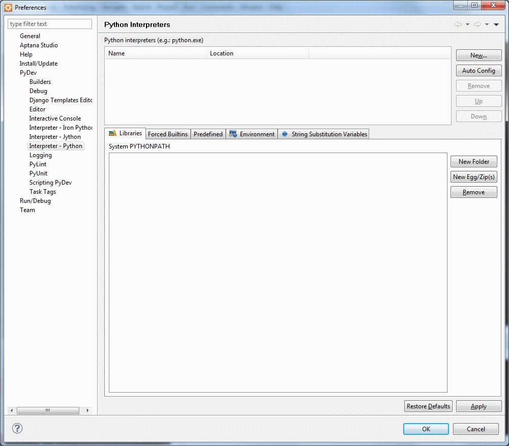 Configuring Aptana for use with Arcpy – ahgvn